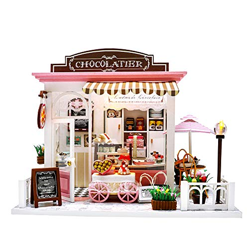 Miniature Dollhouse Kit DIY Dollhouse Wooden Miniature for sale  Delivered anywhere in USA