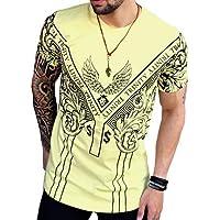 Camisetas Masculinas Oversized Longline Swag Gola Redonda