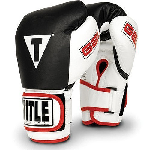 TITLE Gel World Bag Gloves, Black, Medium