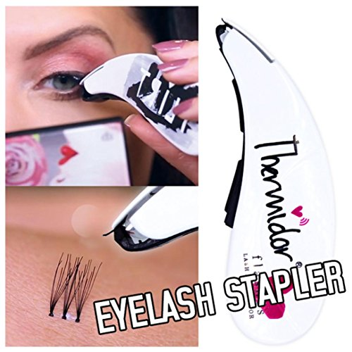 Yeefant Replacement of Fake Eyelash Stapler Planter Eye Make Up Tool Mini Contains 45 False Lash Buds Fit Upper and Lower Eyelids (Multicolor - Cosmetics Bloom Paints Eye