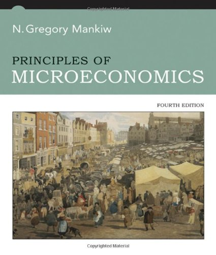 Price comparison product image Principles of Microeconomics