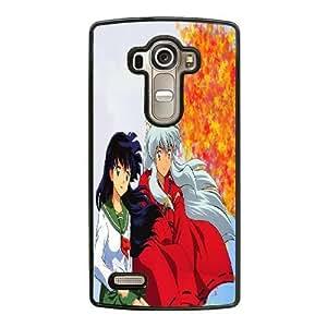Generic Fashion Hard Back Case Cover Fit for LG G4 Cell Phone Case black Japanese anime Inuyasha FEW-7894685