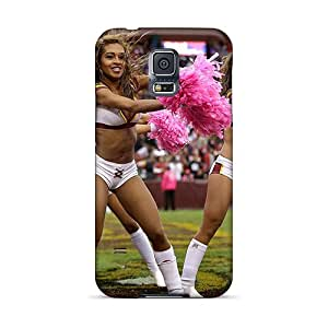 Protective Tpu Case With Fashion Design For Galaxy S5 (washington Redskins Cheerleaders)