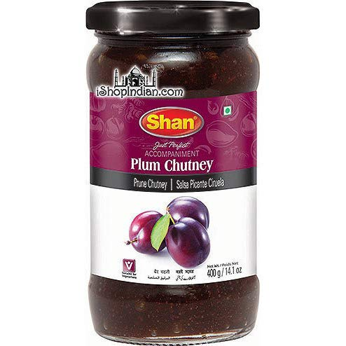 Pack of 2 - Shan Plum Chutney (14.1 Ounces Each)