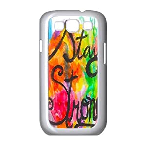 Stay Strong Unique Design Cover Case for Samsung Galaxy S3 I9300,custom case cover ygtg607824