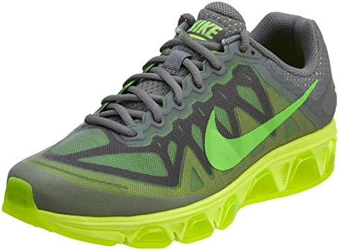 NIKE Men s Air Max Tailwind 7 Cool Grey Green Strike Volt Running Shoe 9.5 Men US