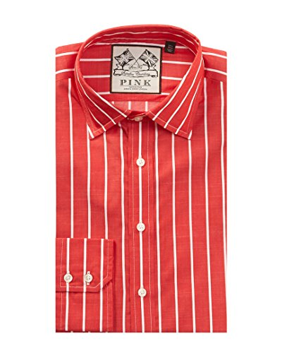 thomas-pink-mens-damien-slim-fit-dress-shirt-165-red
