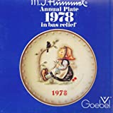 Happy Pastime 1978 GOEBEL MJ Hummel 8th Annual Collectors Plate