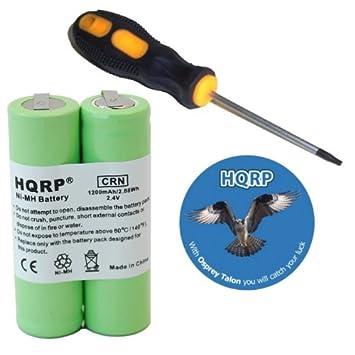 Amazon.com: HQRP Batería para Philips Norelco 5821 X L 5822 ...
