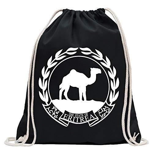 (Eritrea coat of arms bagpack printed Design Print Gift)