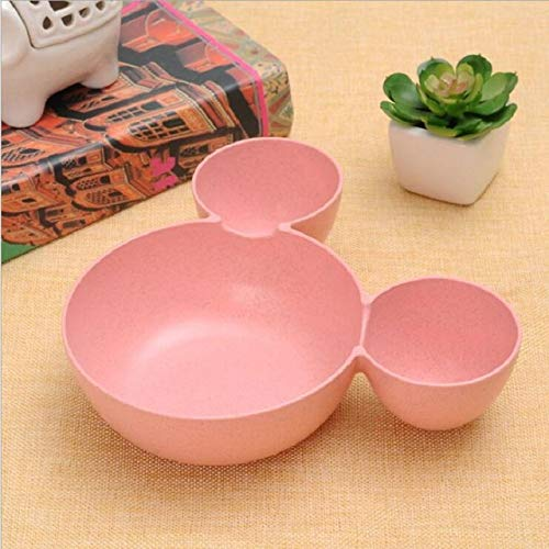 Kids Bowl Dinnerware set Cartoon Creative Plate child Plastic Tableware Lovely Lunch Tray Dishs