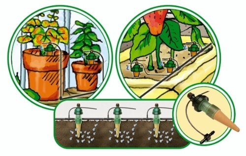 Deluxe Full Loop Kit Blumat 12 Plant Watering System Made in Austria Great for Automatic Vacation Watering