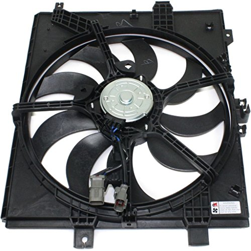 Dual Radiator and Condenser Fan Assembly - Cooling Direct For/Fit NI3115143 12-18 Nissan Versa Sedan/Versa Note Automatic ONLY (Best Radiator Fans 2019)