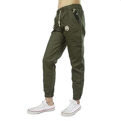 HaiDean Pantalones Cómodos Holgados De Los Hombres Los De Hombres ...