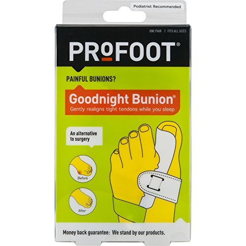 - ProFoot Goodnight Bunion Bunion Regulator, 1 Pair