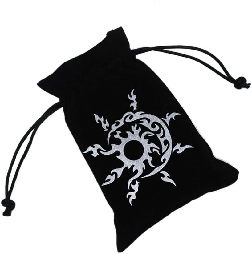 Board Game Cards Bag Velvet Tarot Card Holder Bag Pouch with Drawstring heresell Tarot Card Storage Bag