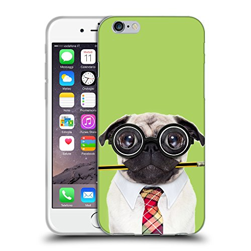 GoGoMobile Coque de Protection TPU Silicone Case pour // Q05790628 Chien bête stupide inchworm // Apple iPhone 6 4.7""
