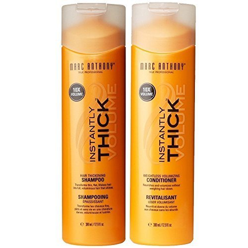 Marc Anthony Instantly Thick Shampoo and Conditioner 12.9 fl oz(Set of 2) (Shampoo Instantly Thick Marc Anthony)