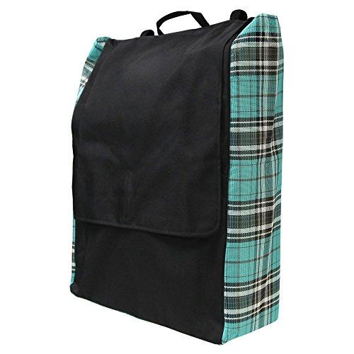 Kensington All Around Blanket Storage Bag, Black Ice