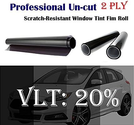 Wimax Smoke 35/% VLT 40 In x 20 Ft 40 x 240 Inch Feet Uncut Roll Window Tint Film Auto Car Home