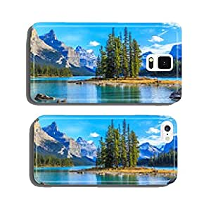 Spirit Island in Maligne Lake cell phone cover case Samsung S6