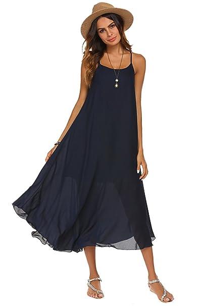 Boho Chiffon Halter Dresses
