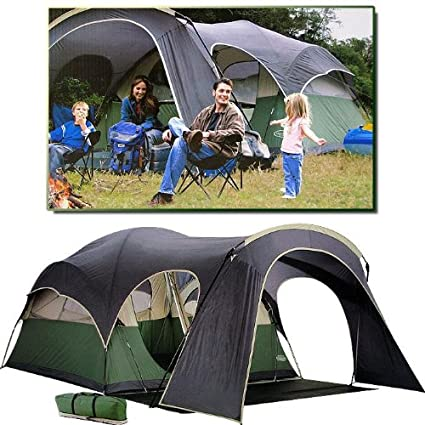 Amazon OPENED BOXES Northpole 2 Room Dome Tent With Canopy