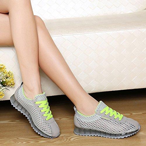 Outdoor Da Da Sneakers Scarpe Scarpe Scarpe Tennis Multisport Ginnastica Scarpe Da Grigio Corsa Donna Scarpe Scarpe Indoor Multisport Running Verde v6Zw5nYxTq