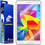 ArmorSuit MilitaryShield - Samsung Galaxy Tab 4 7.0 Screen Protector Anti-Bubble Ultra HD - Extreme Clarity & Touch Responsive with Lifetime Replacements Warranty