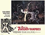 Legend of the 7 Golden Vampires POSTER Movie (1974) Style C 11 x 14 Inches - 28cm x 36cm (Peter Cushing)(David Chiang)(Julie Ege)(Robin Stewart)(Szu Shih)