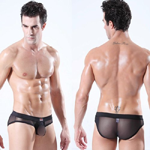 Black men see through underwear
