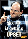 "Ata-Boy Seinfeld George is Getting Upset 2.5"" x 3.5"" Magnet for Refrigerators and Lockers"