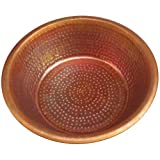 Egypt gift shops Hand Hammered Pure Copper Pedicure Spa Bowl