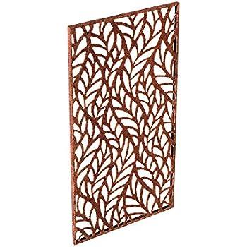 Veradek Flowleaf Screen Panel - Corten Steel