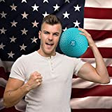 Yes4All Slam Balls (Teal) 20lbs for Strength and