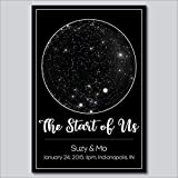 Custom Personalized Star Constellation Map, Star Chart, Choose Your Occasion, Custom Engagement Anniversary Present, Cool Gift Idea, Night Sky Poster New