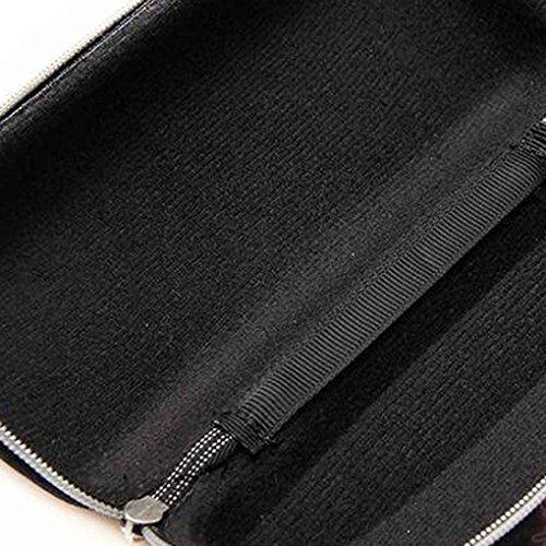 Lunettes Doux Glissière De À Fermeture Case Sport Spacieux Avec Soleil rgrBqa