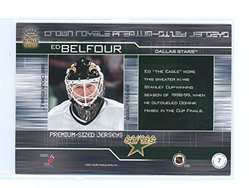 2000-01 Crown Royale Game-Worn Jersey Patches  7 Ed Belfour  352 at  Amazon s Sports Collectibles Store ba7c51a84