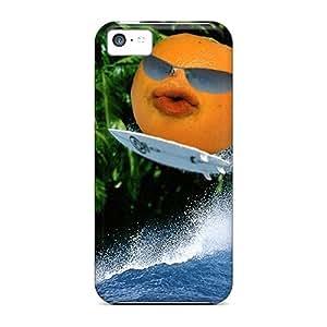 Charming YaYa Case Cover Iphone 5c Protective Case Annoying Orange