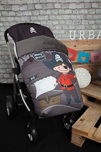 Babyline Barco Pirata Chico - Saco de silla de paseo
