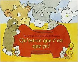 Qu Est Ce Que C Est Que Ca 9782211039451 Amazon Com Books