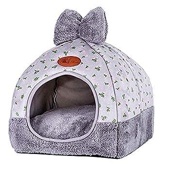TO_GOO Saco Nido para Mascotas Gato Perrito extraíble Mascota Gato Cama Saco de Dormir L: Amazon.es: Productos para mascotas