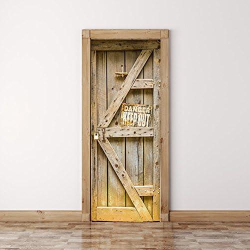 Vinilo 3D Pegatinas para puerta entera trampantojo perfecta imagen ...