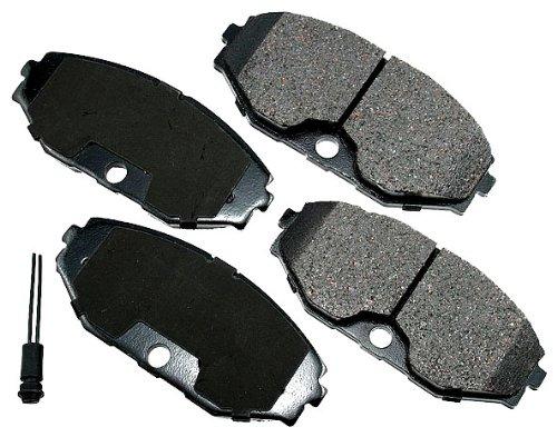 Akebono ACT486 ProACT Ultra-Premium Ceramic Front Brake Pad Set For 1990-96 Infiniti Q45