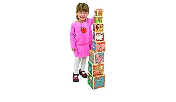 Wooden Animal Nesting Blocks: Melissa & Doug: Amazon.es: Juguetes y juegos