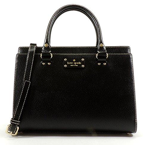 50627cc2aff3e2 Kate Spade Wellesley Durham Leather Satchel Shoulder Bag – Anna's ...