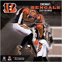Cincinnati Calendar 2019 Cincinnati Bengals 2019 Calendar: Lang Holdings Inc
