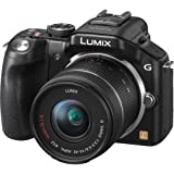 Panasonic DMC-G5KK 16 MP Mirrorless Digital Camera with 14-42mm Zoom Lens and 3-Inch LCD (Black) (OLD MODEL)