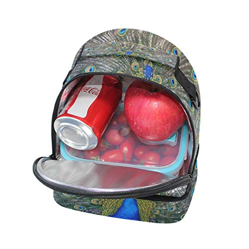 el escuela correa para para térmica Bolsa térmica de la ajustable para almuerzo con hombro Alinlo pincnic OfHzwx4q