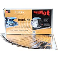 HushMat 10301 Ultra Silver Foil Trunk Kit with Damping Pad - 10 Piece